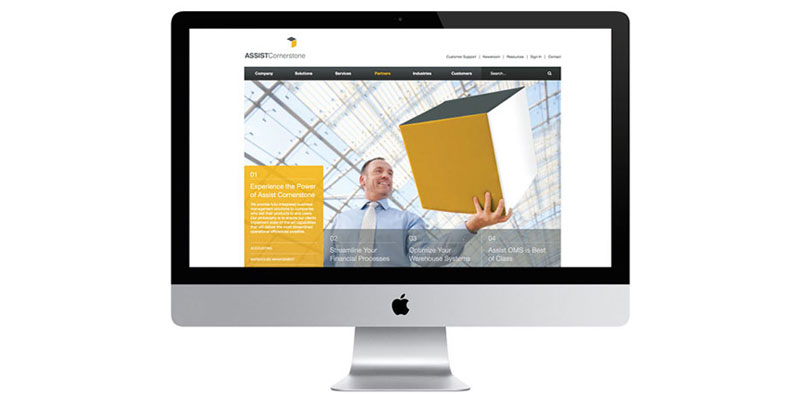 Assist Cornerstone Web Redesign