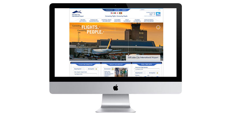 Salt Lake International Airport Website