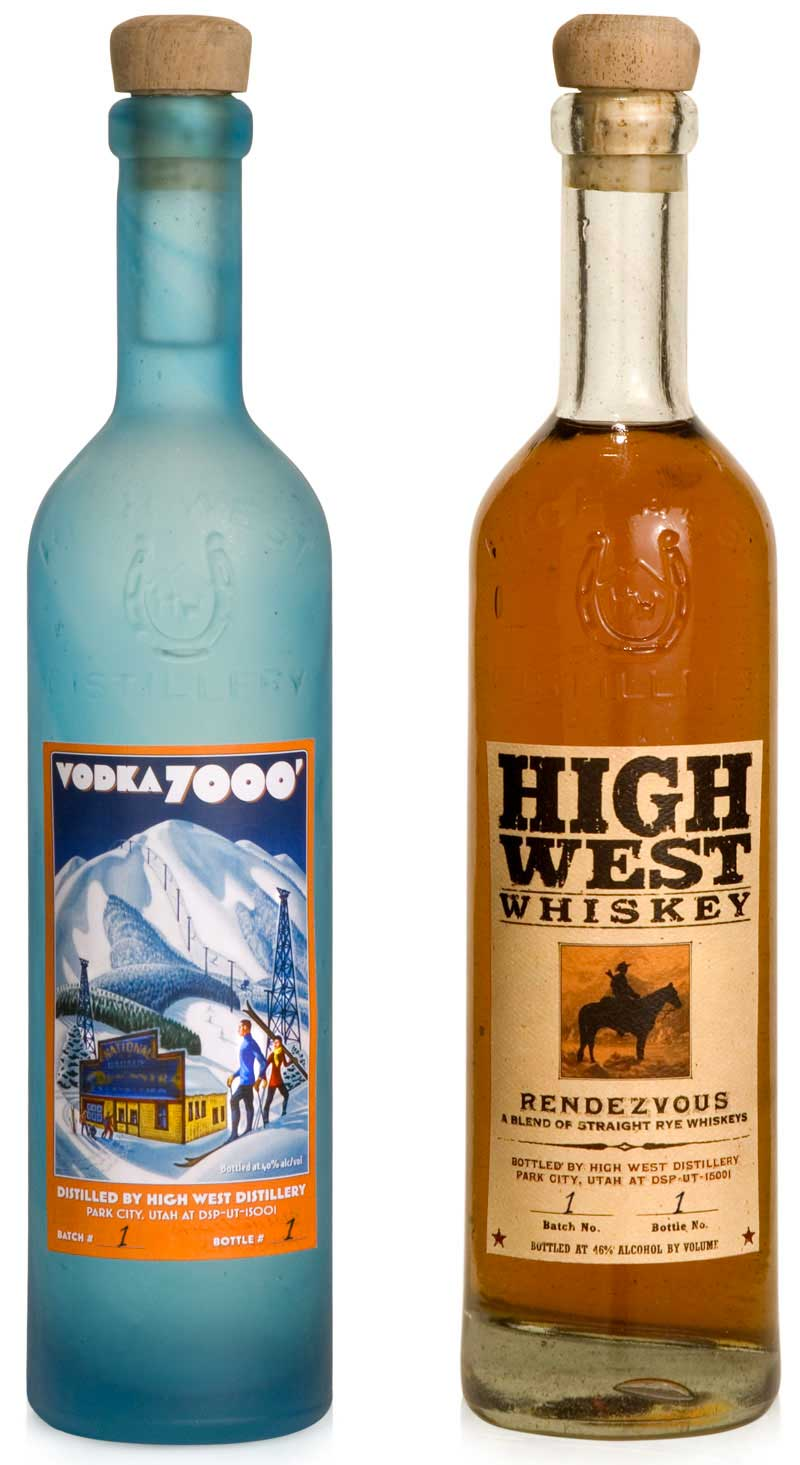 High West Package Design by BWP Communications